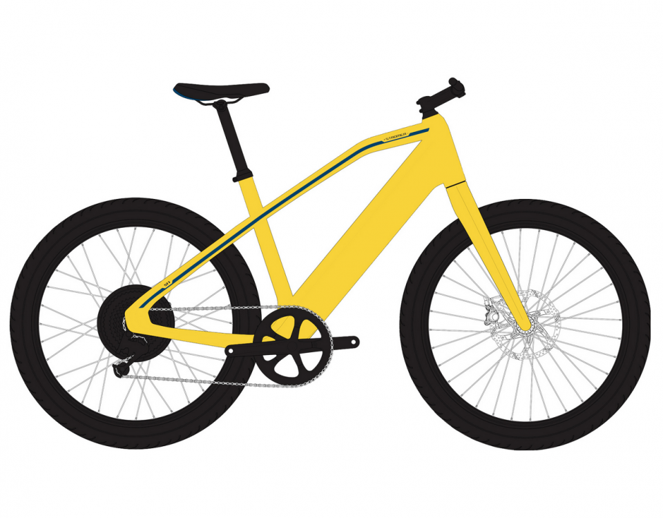 ST1 2019 Launch edition yellow