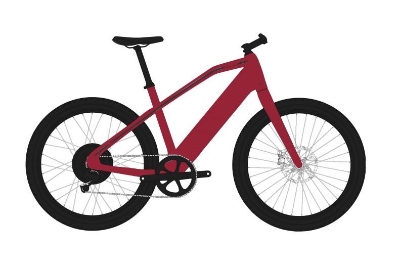 Stromer ST1 2019 Deep Red