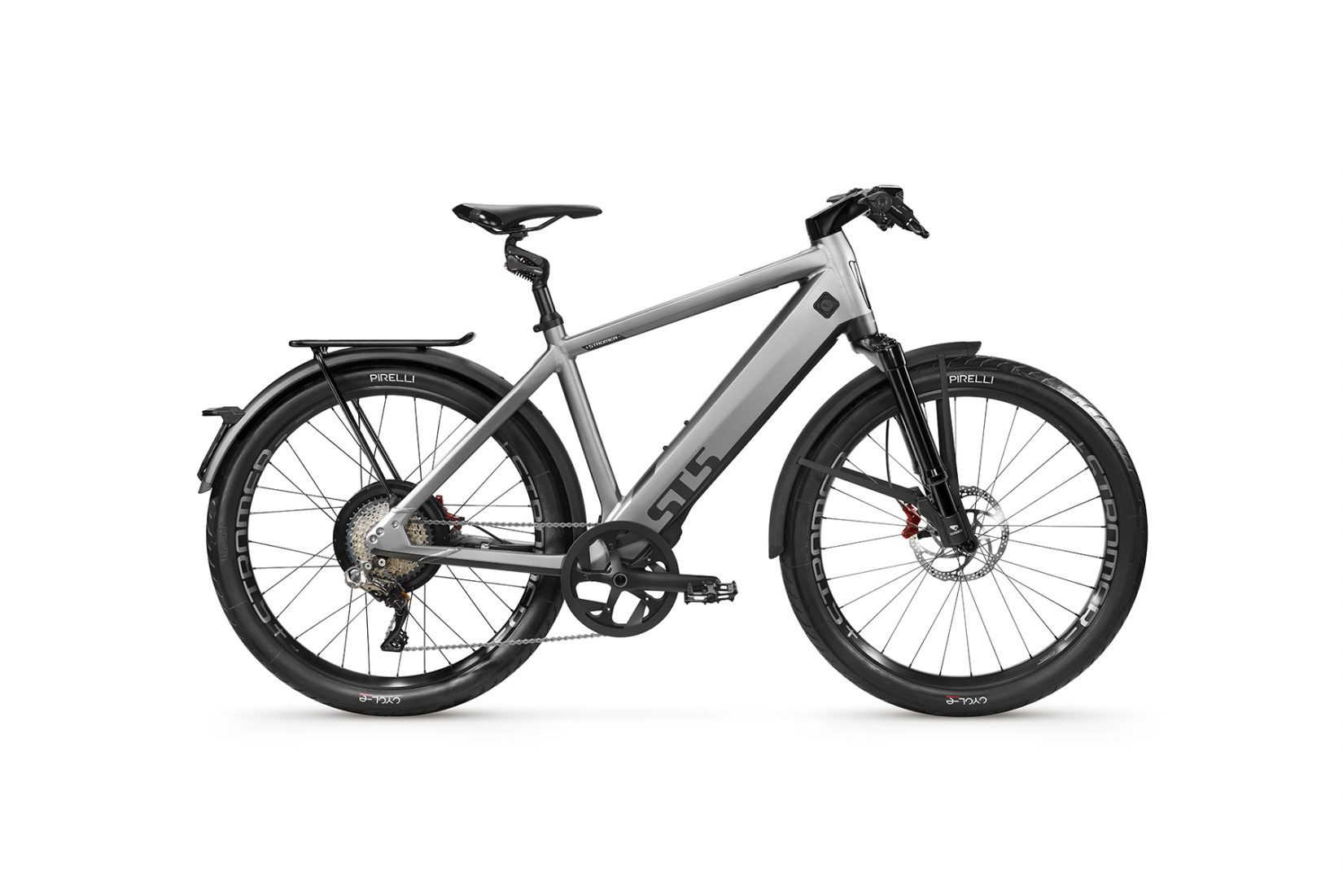 STROMER ST5 met suspension kit en rear rack