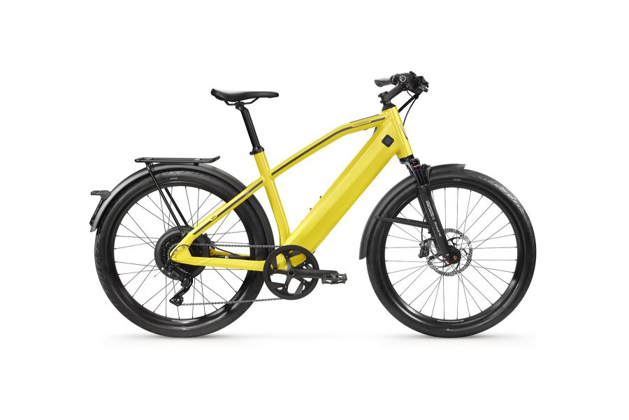 Stromer ST1 yellow 2019 launch edition