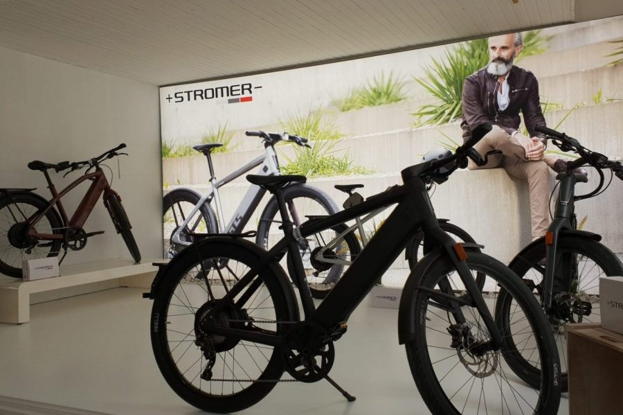 STROMER Concept Store Cool Electro cycles