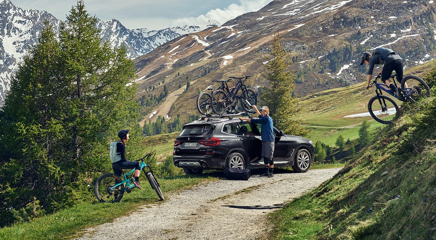 Thule-Bike-racks-Outdoor-MTB productfoto sfeer