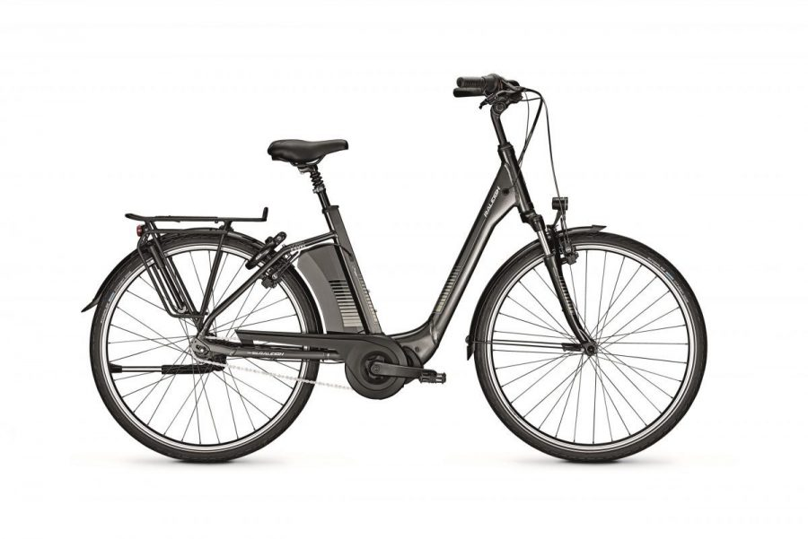 Raleigh Corby 7 Diamond Black gloss productfoto