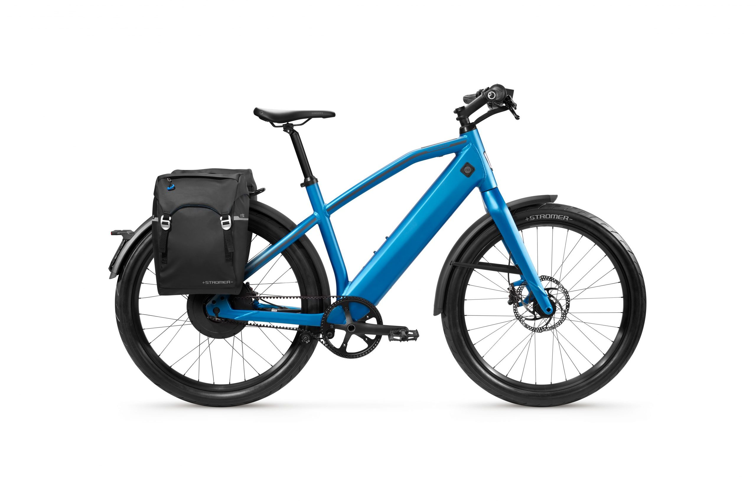 Stromer ST2 Royal Blue Limited Edition met Stromer tas