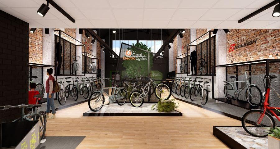 Cool Electro Cycles opent Stromershop Ieper